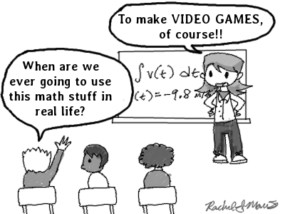 math in games