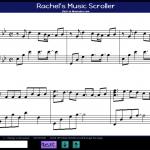 Music Scroller (Web)