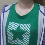 Designed my own Esperanto shirt!